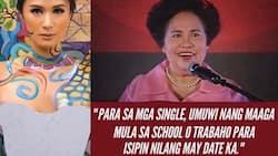 Heart Evangelista recalls Miriam Defensor Santiago's advice for the singles this V-day
