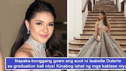 Yayamanin talaga! Isabelle Duterte's 'super bonggang' gown makes heads turn on her graduation ball
