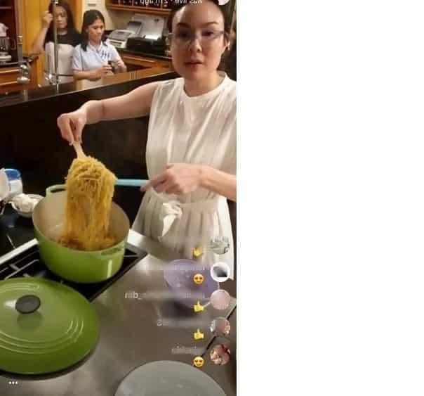 Gretchen Barretto, ginulat ang mga netizens sa presyo ng kaldero na pinaglutuan niya ng pancit canton