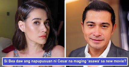 Si Bea daw ang bagong pinupuntirya? Cesar Montano eyes Bea Alonzo to be his 'wife' in new film