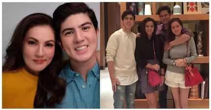 Hashtag, twinning! Carmina Villaroel at ang gwapitong anak na si Mavy Legaspi