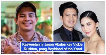 'Tinuruan mo ako mag mahal' This birthday greeting proves Jason Abalos is 'Boyfriend of the Year'