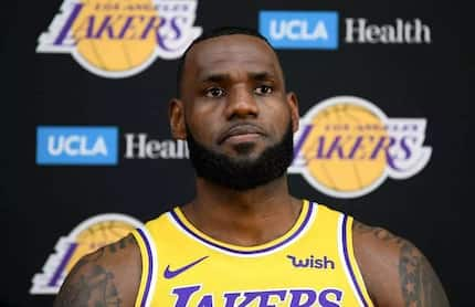 """""""I have to be patient right now,"""" sabi ni Lebron James bilang bagong member ng LA Lakers"""