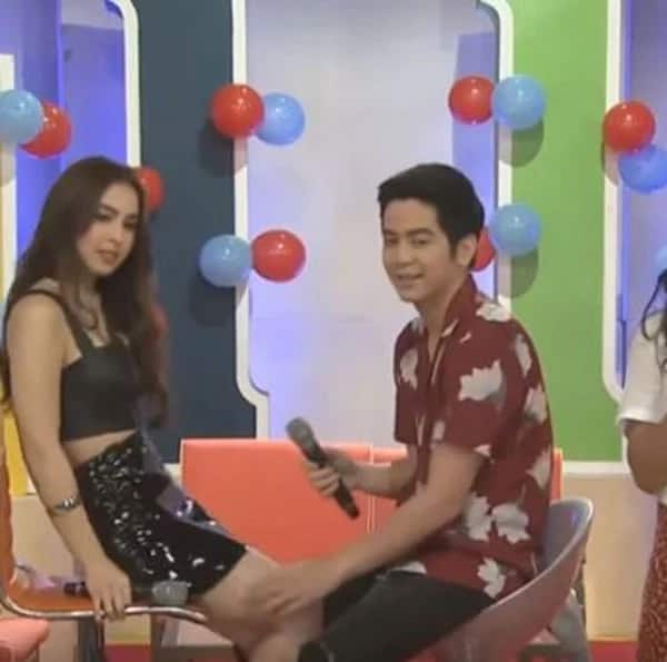 Joshua Garcia proves his worth by protecting Julia Barretto from possible wardrobe malfunction