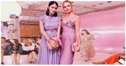 Heart Evangelista, rubbing elbows sa Hollywood actress at model, Kate Bosworth