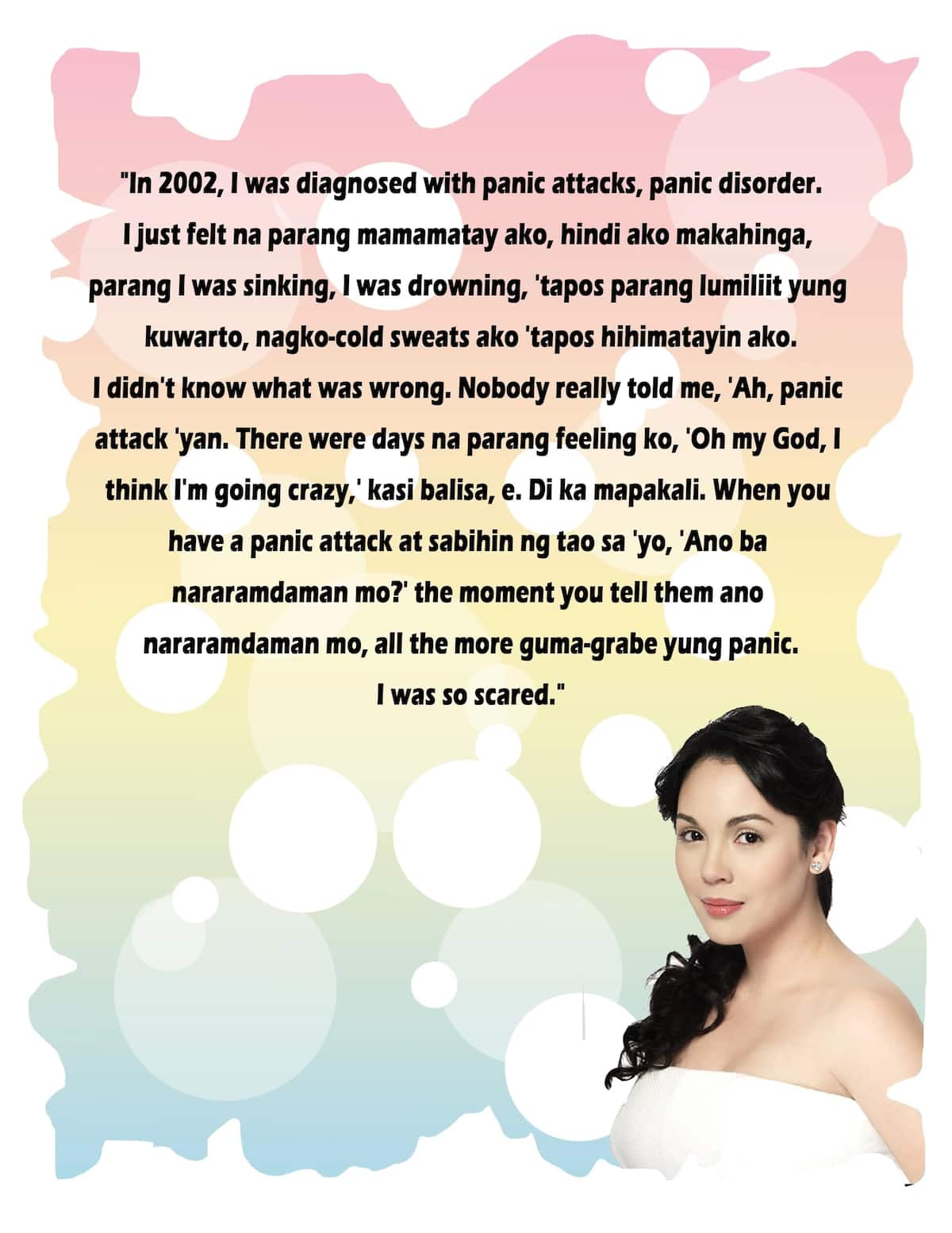 'Oh my God, I think I'm going crazy,' Claudine Barretto reveals panic disorder started after Rico Yan's death