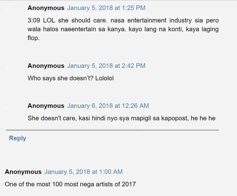 Ang haba ng hair! Jessy Mendiola thanks TC Candler for comment