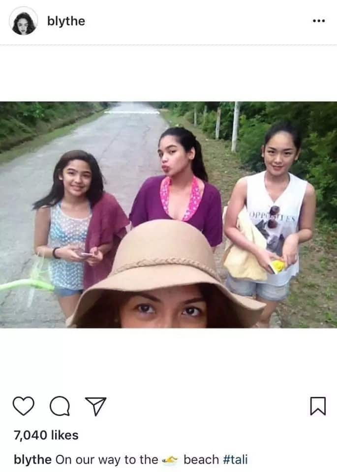 Kayla Aan, sister of Andrea Brillantes, is a real beauty