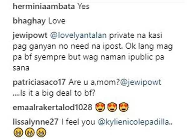 Kylie Padilla receives support from mothers who advocate breastfeeding