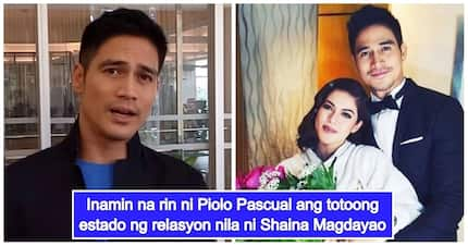 Piolo Pascual finally settles the question if he and Shaina Magdayao are in a relationship