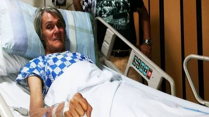 Tuloy ang Rock & Roll! King of Pinoy Rock Pepe Smith is now out of danger