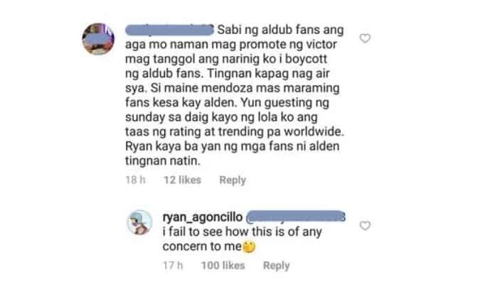 """""""None of this is my business."""" Ryan Agoncillo, umalma sa pagdawit sa kanya ng mga AlDub fans"""