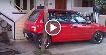Better prepare to say genius, when you see this style of parking