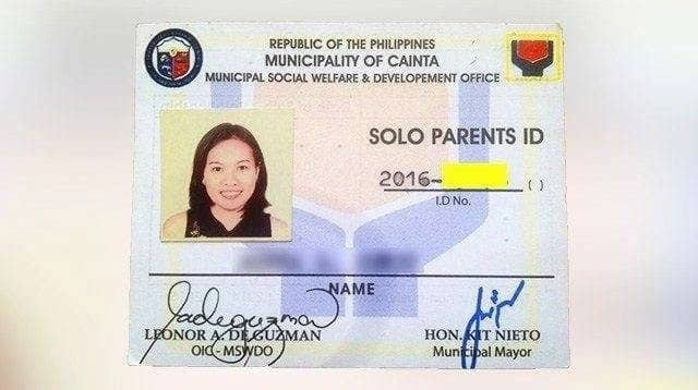 How to get a Solo Parent ID and its benefits