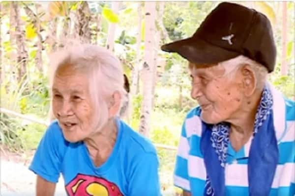 Ebidensya na merong 'Forever'! 2 centenarians in Saranggani are still celebrating their love for each other for almost 70 years now