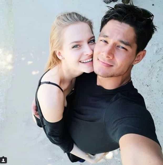 Daniel Matsunaga celebrates birthday with Polish girlfriend in Palawan