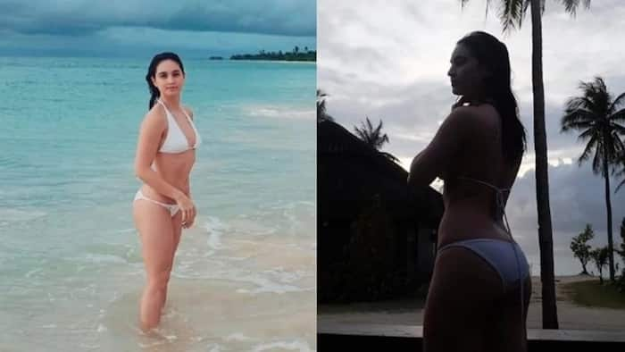 Coleen Garcia shows off her beach body in Balesin