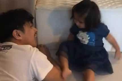 Alagang tatay! Robin Padilla & Baby Isabella's sweet bonding moment touches netizens