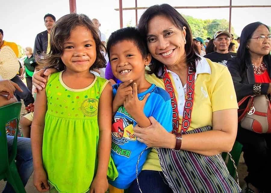 Leni Robredo as Philippine's second female Vice President
