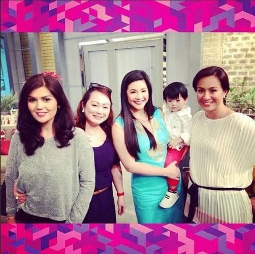 Regine Velasquez and Donna Cruz miss Mikee in Cebu