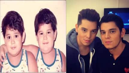 Richard and Raymond Gutierrez together at the gym will give you a blast from the past