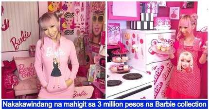 34-year-old na babae gumastos ng mahigit sa $70,000 para sa kanyang Barbie koleksyon