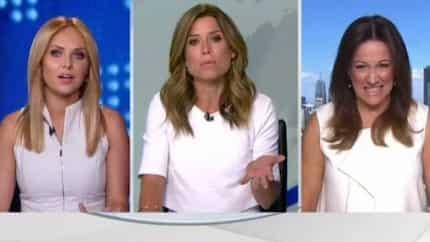 Australian TV Host Has A Tantrum Because Coworker Has Same Colored Dress
