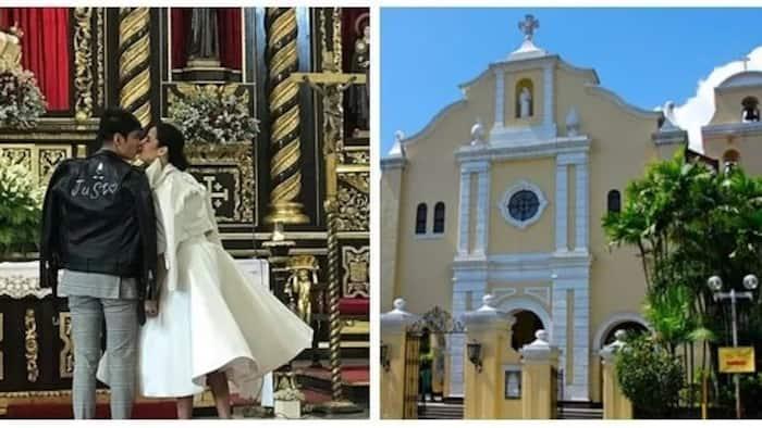 Ang bongga talaga! Robby Mananquil and Maxene Magalona share photo of intimate church wedding