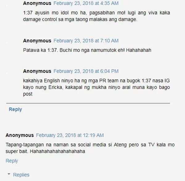 Is Nadine's latest post hitting at Ericka Villongco?