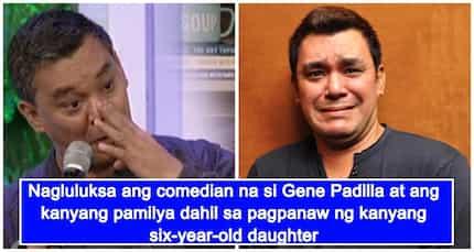 Gene Padilla, nagdadalamhati sa pagkamatay ng anim na taong gulang na anak dahil sa Dengue