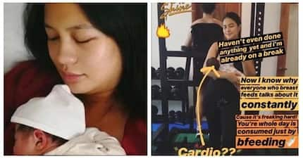 Sulit ang lahat ng hirap! Isabelle Daza shares she is thrilled to breastfeed her baby