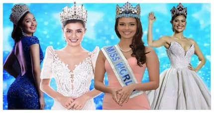 Confidently beautiful! 6 Iconic beauties of Miss World Philippines queens
