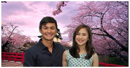 Walang chaperone! Matteo Guidicelli and Sarah Geronimo went to Japan to celebrate her 30th birthday.