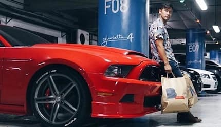 Rocco Nacino's collection of expensive cars and motorbikes