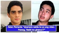 "Alden Richards breaks his silence on video of Juancho Trivino giving his poster the bad finger: ""Nagulat po ako"""