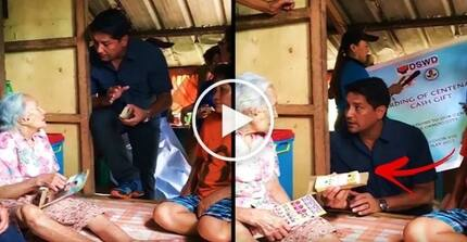 Sobrang galanteng mayor! You won't believe what Richard Gomez gave to a 102-year-old Pinay in Ormoc City!