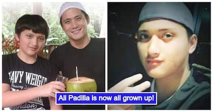 Artistahin din like Daniel Padilla! Robin Padilla's son Ali Padilla is now all grown up