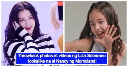Ibang-iba na siya ngayon! Throwback photos & videos of Momoland's Nancy go viral