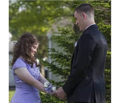 He made a promise to a friend with Down syndrome in fourth grade…7 years later he surprised her with a proposal!