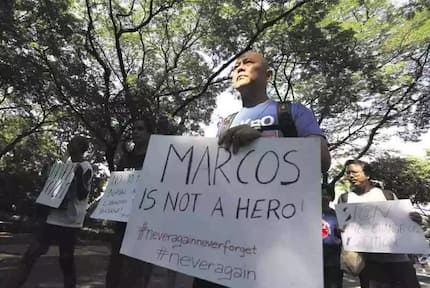 """Bayan: """"Do not use taxpayers' money for Marcos' burial"""""""