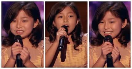 She did it again! Talented 9-year-old singer gets Golden Buzzer after impressive performance