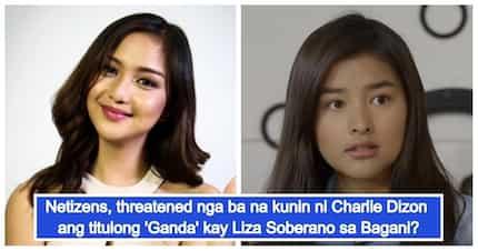 Charlie Dizon, aagawin ang titulong 'Ganda' kay Liza Soberano sa kanilang show na Bagani?