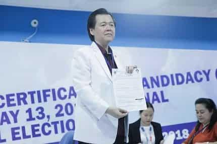 Isa muling doktor sa Senado? Willie Ong, nag-file ng COC for Senator