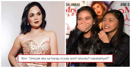 Na-nginig nang makatabi si Juday! Kim Chiu cries over fangirling moment with Judy Ann Santos