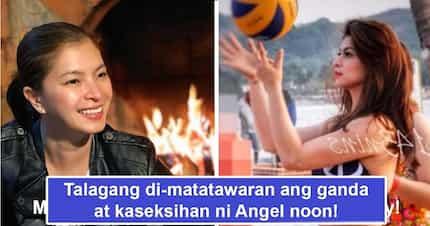Walang tatalo sa alindog niya! Angel Locsin's throwback photo at the beach playing volleyball proves why she's irreplaceable as 'pinakaseksi'