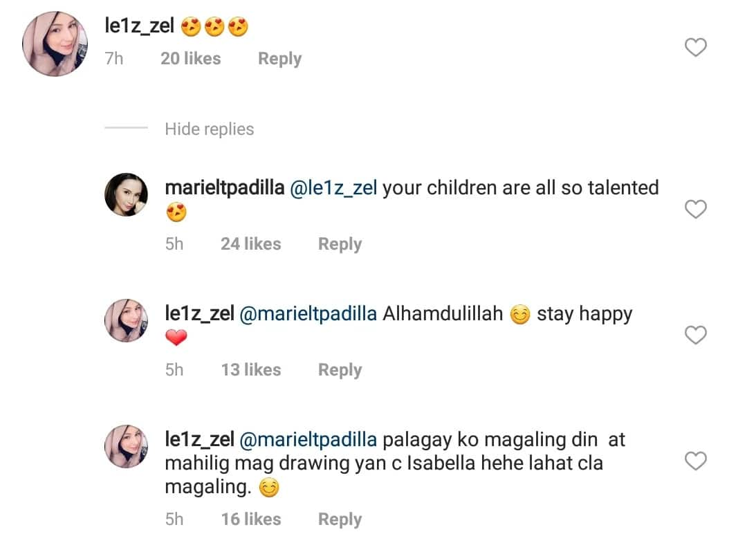 Nakaka good vibes talaga! Liezl Sicangco and Mariel Padilla exchange kind words about their children
