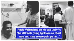 Angeli Pangilinan and Paolo Valenciano give important updates on Gary Valenciano's condition
