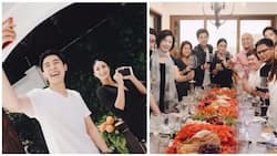 Close na sila agad! Heart Evangelista hosts 29th birthday of her 'My Korean Jagiya' leading man Alexander Lee