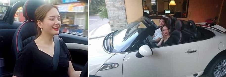 Ellen Adarna shares glimpse of the interior of her and John Lloyd Cruz's car
