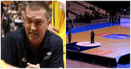 Australian Boomers head coach reveals why they removed floor stickers in Philippine Arena